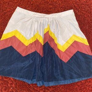 Beautiful colorful skirt
